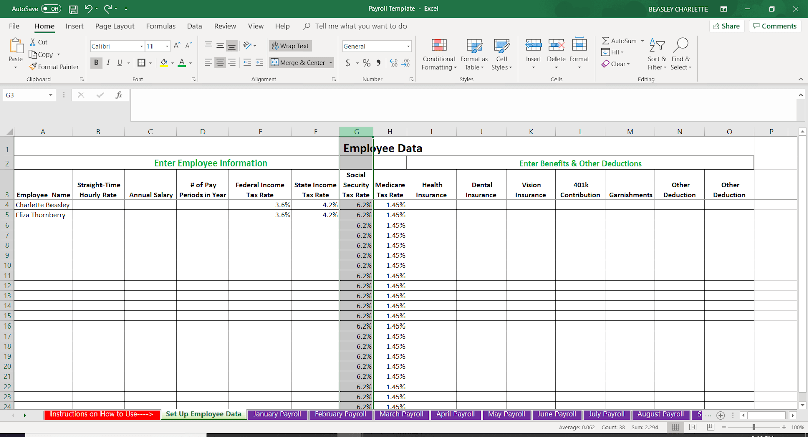 free download payroll software in excel format