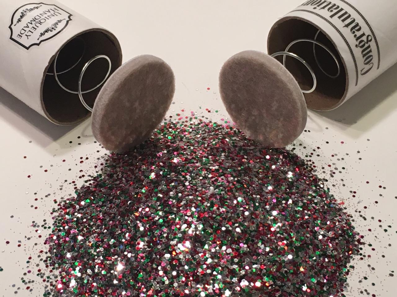 Spring Loaded Glitter Bomb