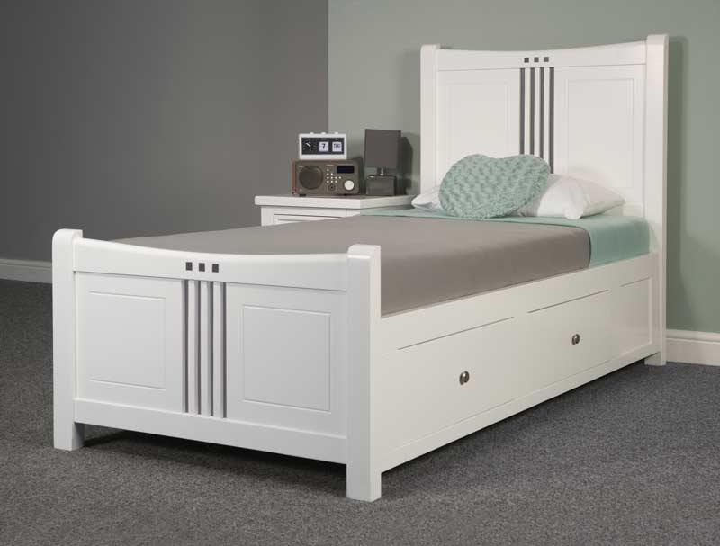 Sweet Dreams Louis Painted Wood Bed Frame Buy Online At