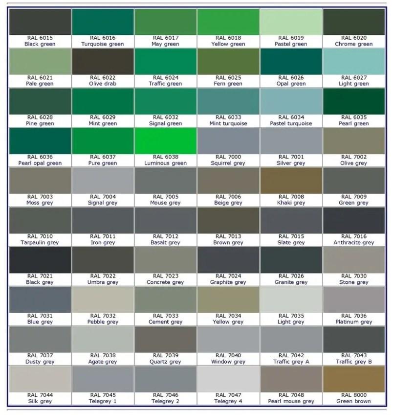 Ral Color Chart Pdf Grey Vivostar