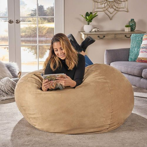 Cool Top 5 Best Bean Bag Chairs In 2019 Review Best Product Buff Machost Co Dining Chair Design Ideas Machostcouk