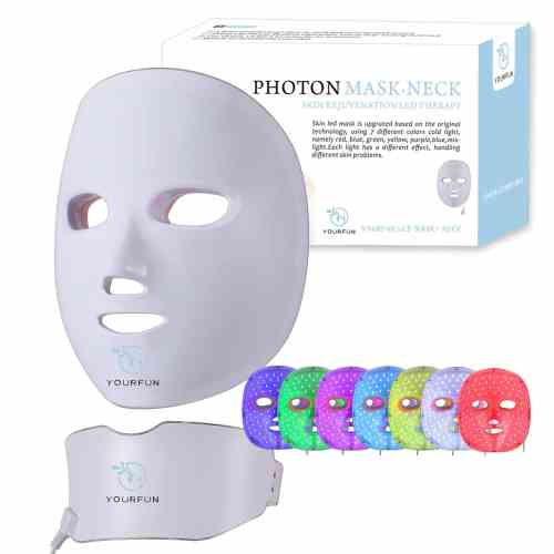 Wireless-Color Rejuvenation-Facial Beauty, Comes with a neck photon