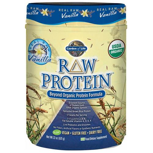 Garden of life raw organic protein vanilla 631 grams 22 - Garden of life vanilla protein powder ...