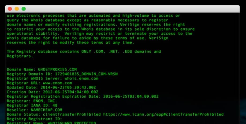 Using Proxies to Scrape Whois Domain Data