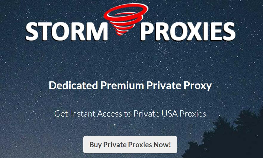 dedicated proxies from storm proxies