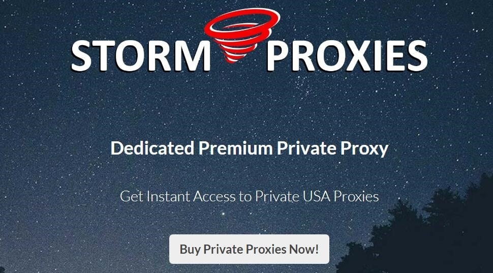 stormproxies private proxies overview
