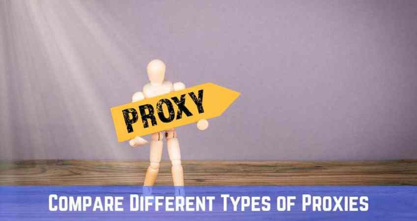 Types of Proxies