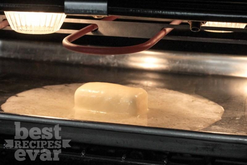Dinner rolls butter