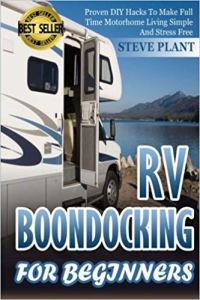 RV Boondocking for Beginners - Books About Boondocking