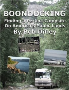 BOONDOCKING: Finding a Perfect Campsite on America's Public Lands - Books About Boondocking