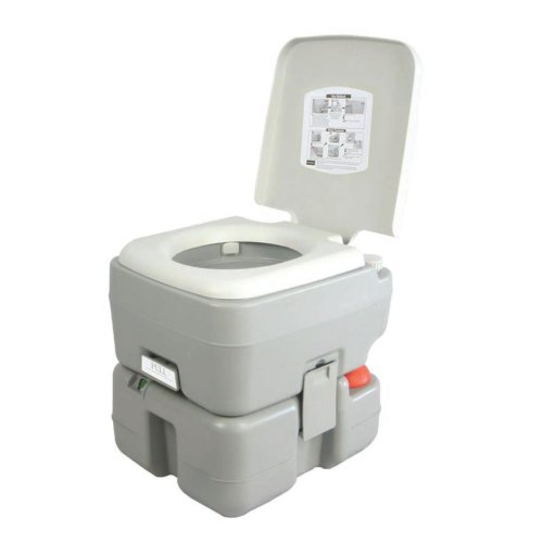 SereneLife Outdoor Portable Camping Toilet
