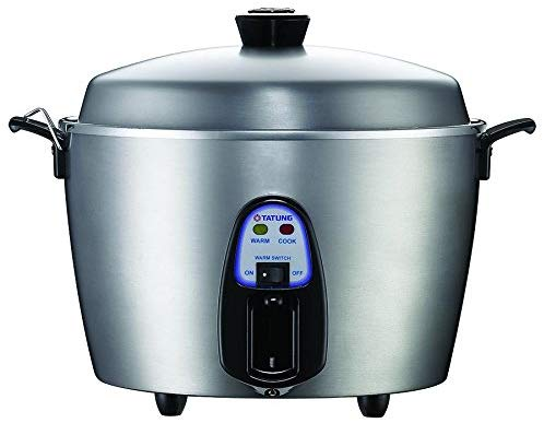 Tatung 11-cup Stainless Steel Multifunctional Rice Cooker