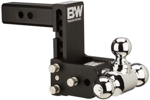 B&W Tow and Stow Magnum Receiver Trailer Hitch Ball Mount