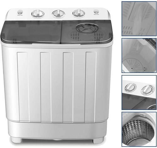 4-EVER Portable Washing Machine and Dryer Combo for RV