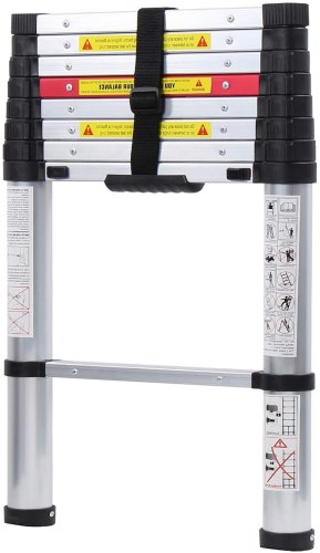 WolfWise Telescopic Ladder RV Bunks