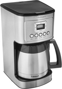 Cuisinart stainless top 10 RV coffee makers