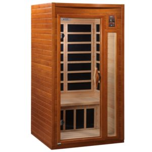 DYNAMIC SAUNAS 1 to 2-Person Infrared Sauna