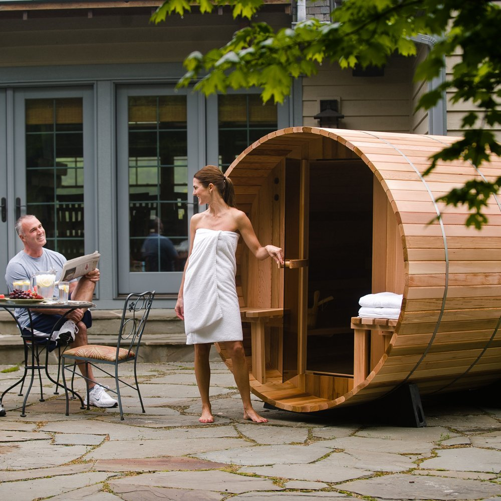 If You Are Looking For The Most Optimal Small Outdoor: Best Outdoor Saunas Reviewed 2019