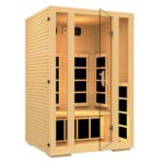 ]NH Lifestyles 2 Person Infrared Sauna 3