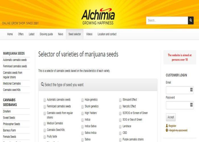 Alchimia Grow Shop Review