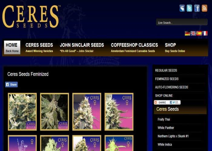 Ceres Seeds Review