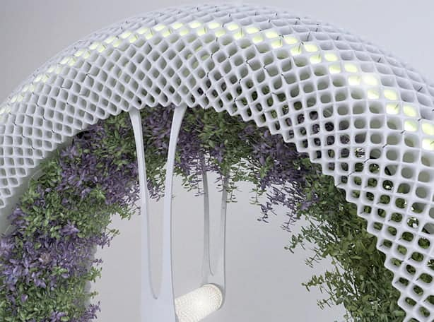wpid indoor rotary hydroponic garden design libero closeup