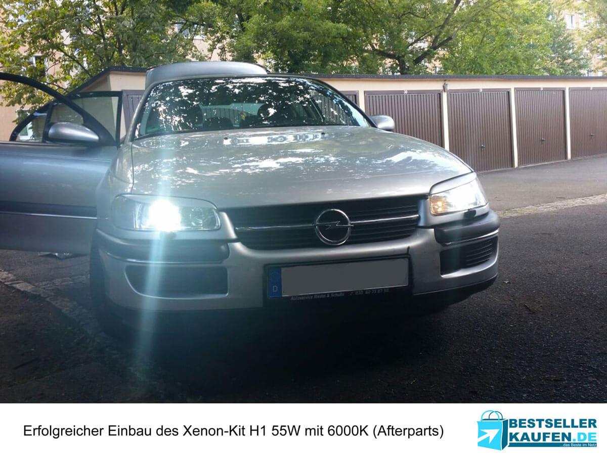 Xenon Kit Einbau Opel Omega