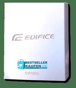 Verpackung Test Edifice Casio