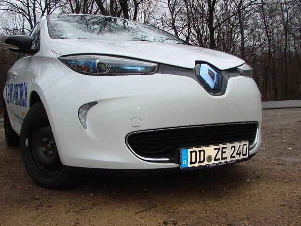 Tagfahrlicht am Renault Zoe