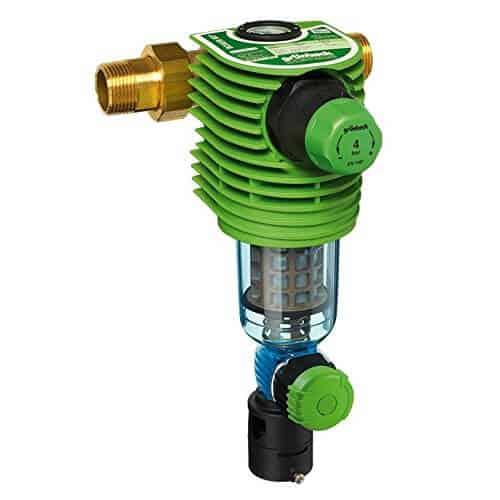 BOLERO rückspülbar Wasserfilter inkl Druckminderer DN 25 Hauswasserstation