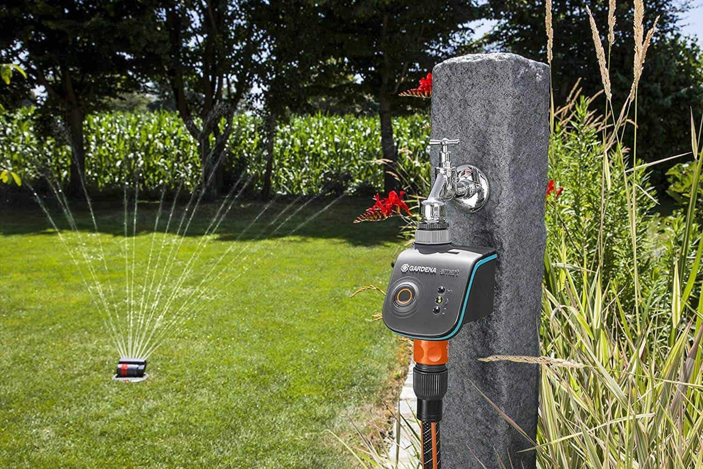 Automatische Timer Bewässerungsuhr Zeitschaltuhr Garten Wasser Rasen Sprenger
