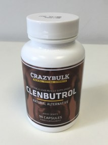 Crazy Bulk Clenbutrol bottle