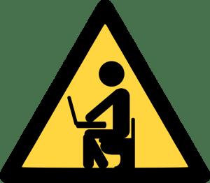 writer warning
