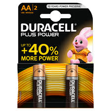 AA Duracell 2PK x 20