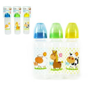 Baby Bottle 250ml 3 Asst.