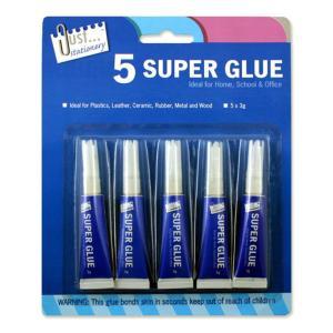 5pk Super Glue