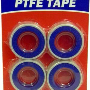 PTFE Tape 4 rolls on card