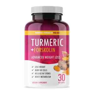 Turmeric Forskolin Superfood Diet Pills