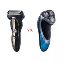 Foil vs Rotary Shaver