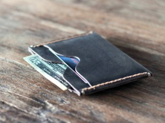 Inside Out Slim Leather Wallet (2)