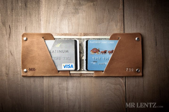Mr. Lentz Minimalist Leather Wallet