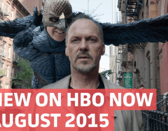 New on HBO in August