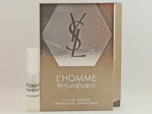 YSL YVES SAINT LAURENT L'HOMME 1.5ml .05fl oz x 1 COLOGNE SPRAY Good Product quality!!