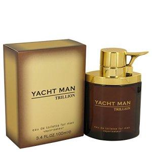 Myrurgia Myrurgia Yacht man trillion by myrurgia for men – 3.4 Ounce edt spray, 3.4 Ounce