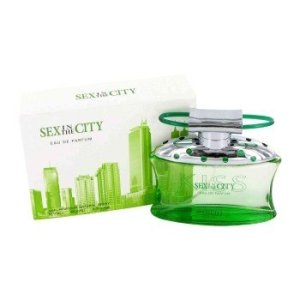 Sex in the City Kiss by Instyle Parfums Eau De Parfum Spray 3.3 OZ