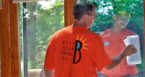Best Solar Control applies window film