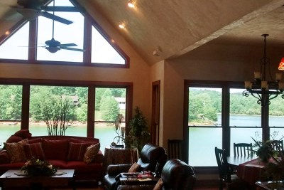 Best Solar Control Lake view without the glare thanks to window film
