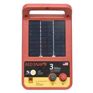 Red Snap'r ESP3M-RS Solar Fence Charger