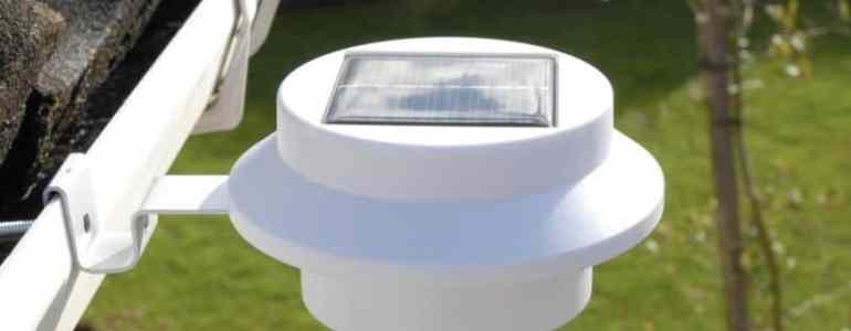 Best solar gutter lights reviewed 2018 best solar tech best solar gutter lights aloadofball Images
