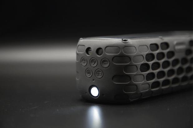 SolarBox Solar Speaker Light